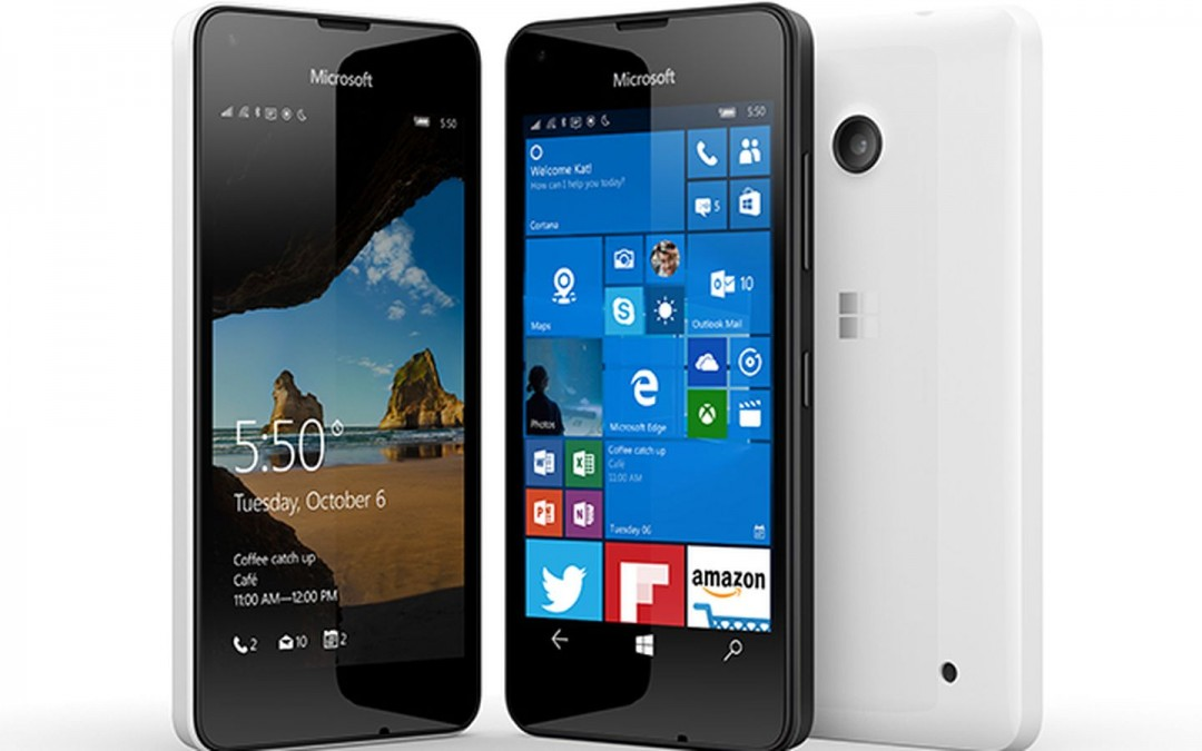Lumia 550 available for pre-order in UK