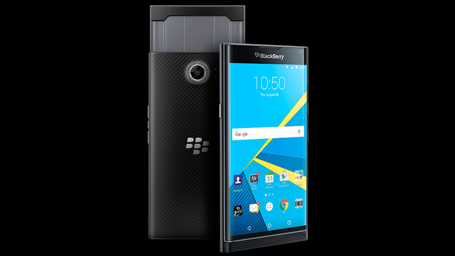 Blackberry Priv Now Available for Purchase in UK