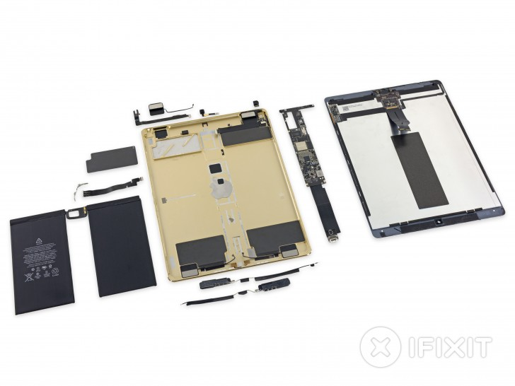 ipad pro disassembled