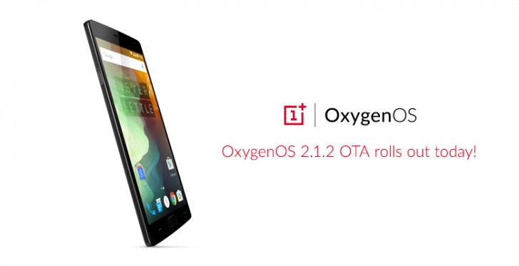 OnePlus 2 gets OxygenOS 2.1.2 update