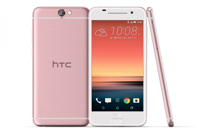HTC One A9 available in pink