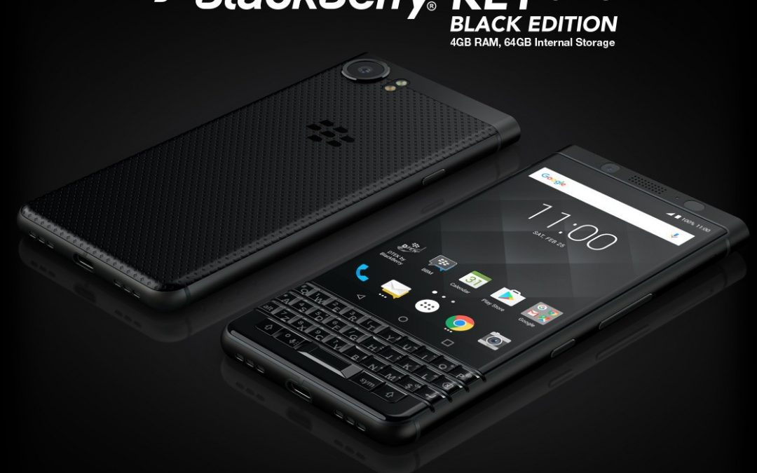 BlackBerry Keyone Black Edition available at retailers across UK