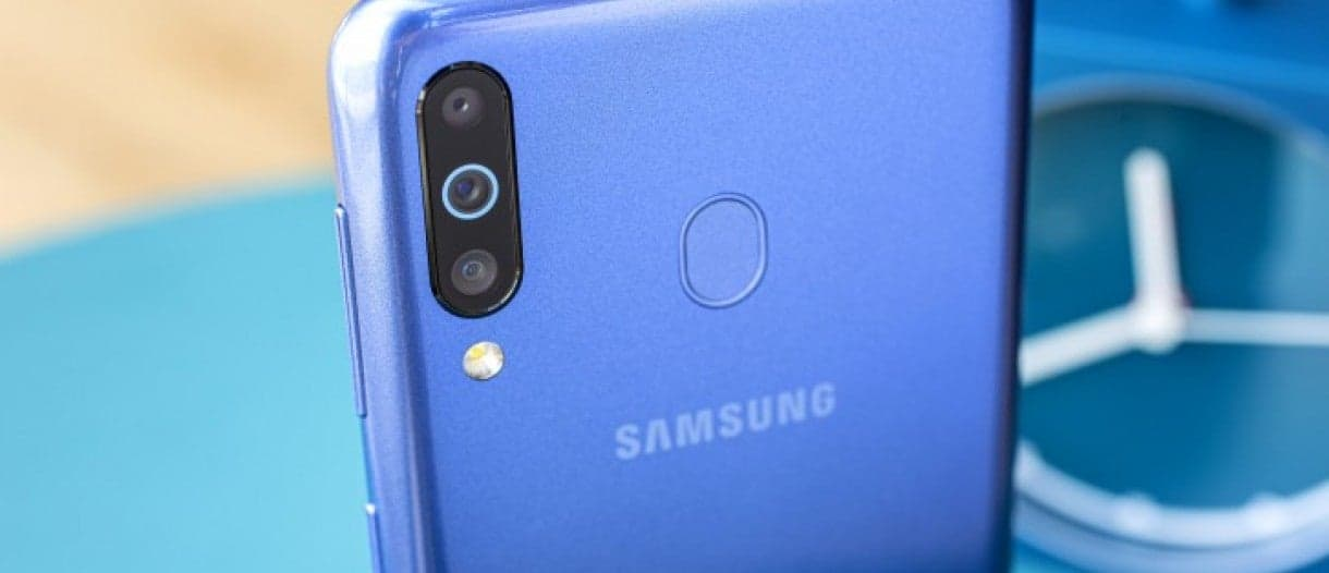 Samsung Galaxy A11 appears in a render with punch hole display
